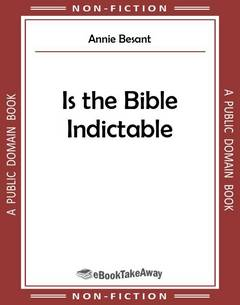 Is the Bible Indictable